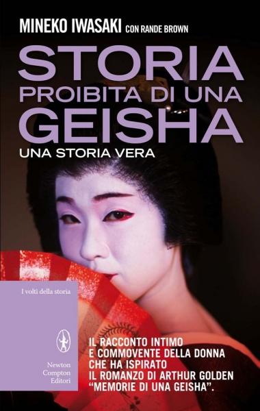 Storia proibita di una geisha. Una storia vera Book Cover