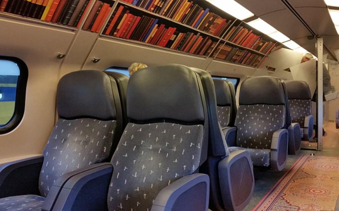 Vagoni biblioteca: in Olanda treni da lettori