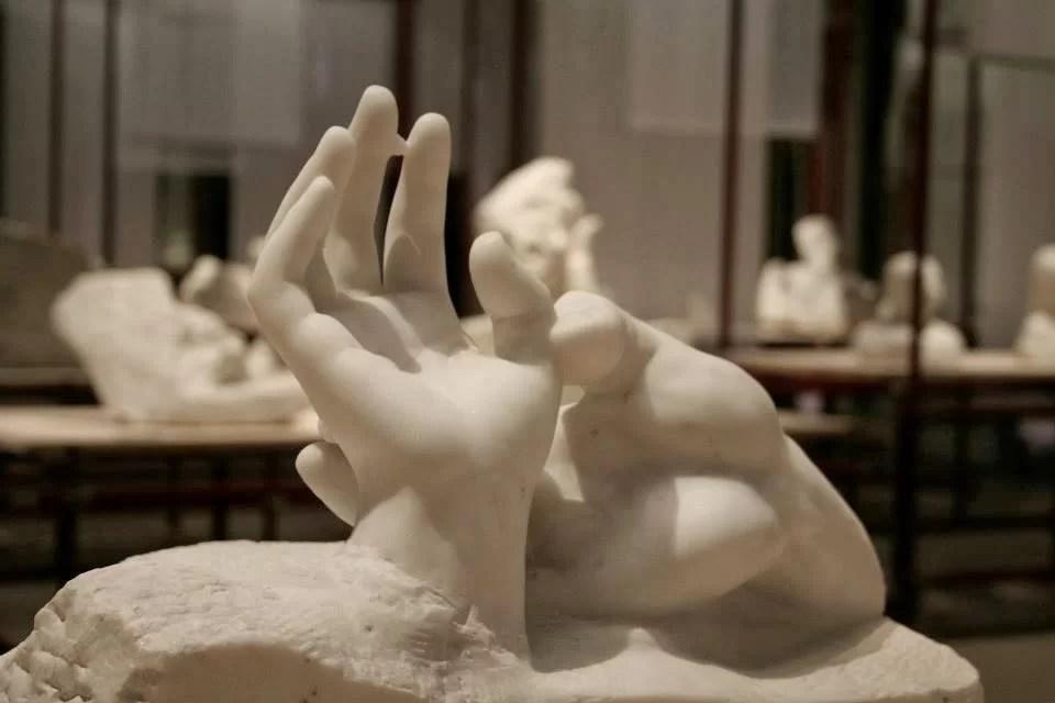 Auguste Rodin, Mains d'amants, marmo, 1904, Musée Rodin di Parigi