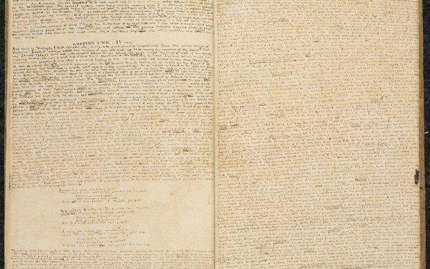 Charlotte Bronte manoscritto inedito