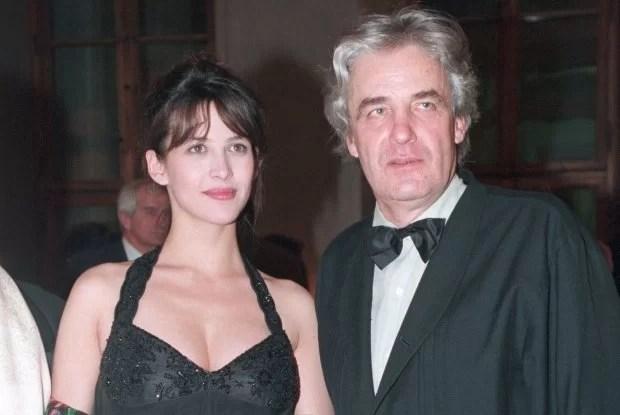 Il regista e Sophie Marceau