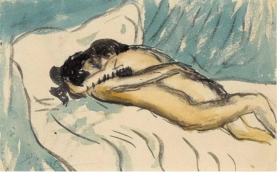 picasso, abbraaccio, 1901