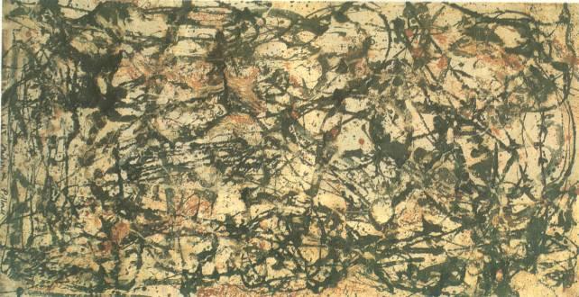 Jackson Pollock, La foresta incantata