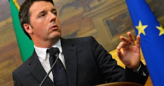 Matteo Renzi. AFP PHOTO / ANDREAS SOLARO (Photo credit should read ANDREAS SOLARO/AFP/Getty Images)