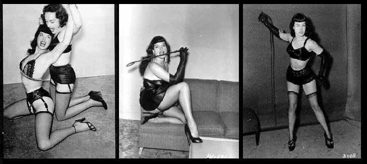 Bettie in bondage
