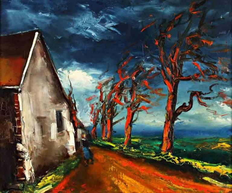 Maurice de Vlaminck: <br>natura e tormento