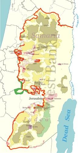 muri nel mondo - il muro tra Israele e Palestina