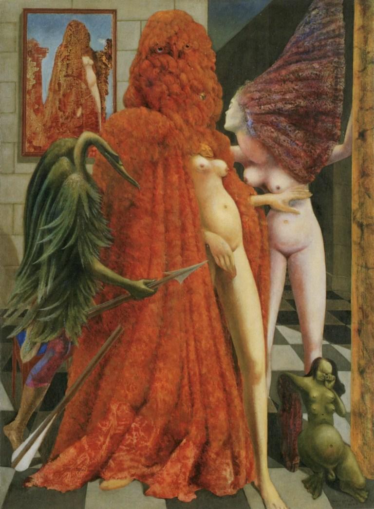 «La vestizione della sposa»: Peggy Guggenheim musa inquietante di Ernst