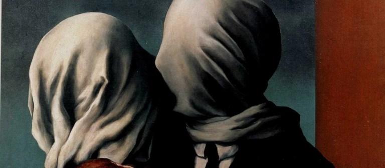 """Gli """"Amanti"""" di René Magritte sul filo del paradosso"""