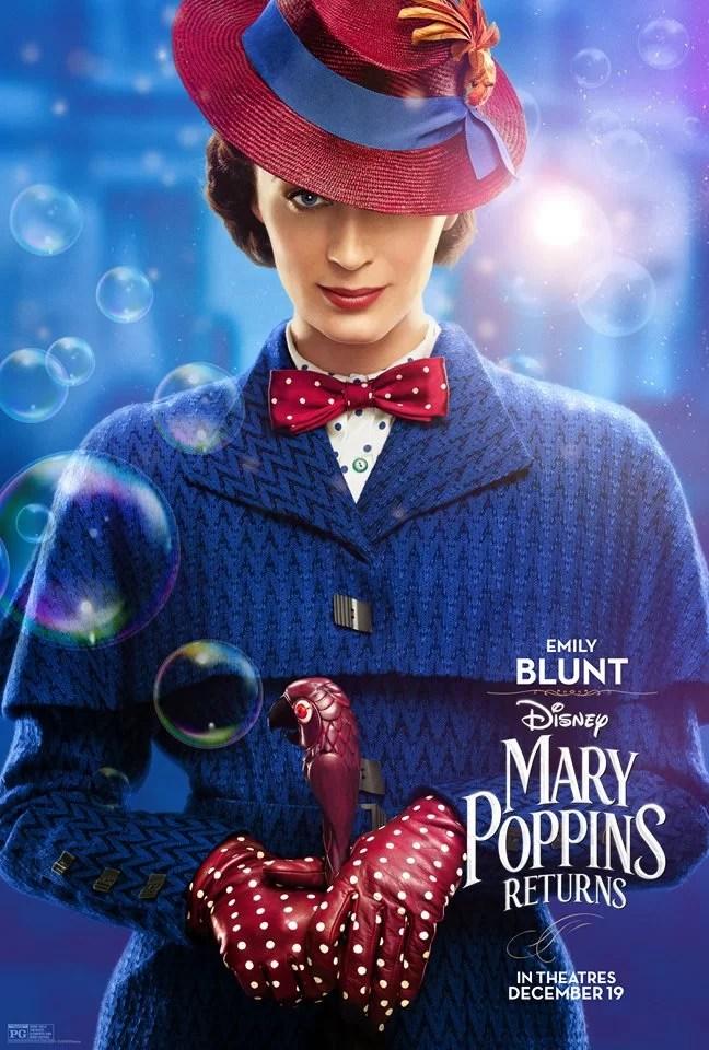 Il ritorno di Mary Poppins poster