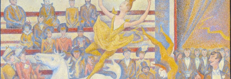«Il circo» di Seurat: la ricerca dell'armonia e l'estetica scientifica