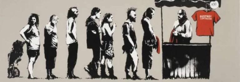 «BANKSY A VISUAL PROTEST», la Street art alla conquista di Roma