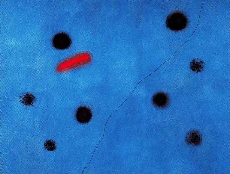 trittico blu