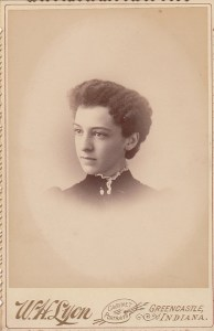 E. Jean Nelson (Penfield) as a student