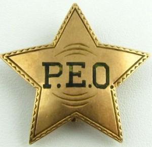 1914 P.E.O. Emblem