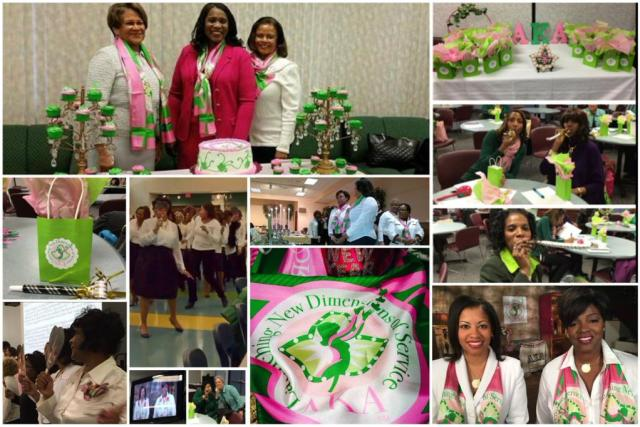Alpha Kappa Alpha @akasorority1908  ·  Jan 4 This weekend kicked-off the unveiling of 'Launching New Dimensions of Service' Check out a few pics #AKA1908 #AKALNDS