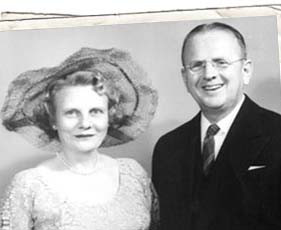 Ruth and Norman Vincent Peale