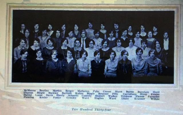 1933-34 Phi Mu