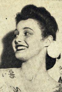 Patricia Neal, 1946 Northwestern University campus queen