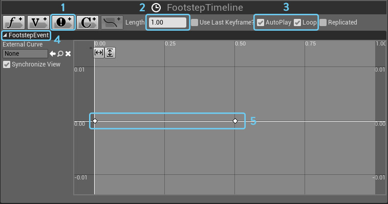 Tutorial adding player footstep audio in ue4 with blueprints franbo footstep timeline setup interior malvernweather Gallery