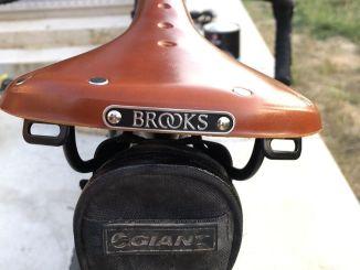 selle de vélo en cuir brooks b17