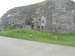 A small part of the outside fortifications