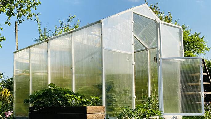serres de jardin alu et polycarbonate