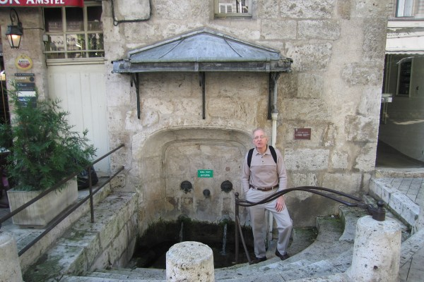 Old city well
