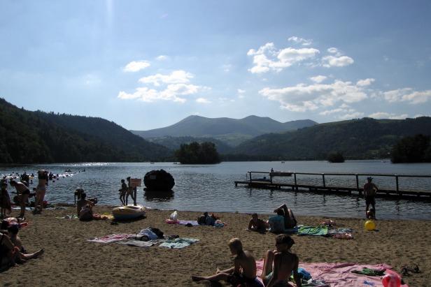 Lac Chambon, Auvergne Region