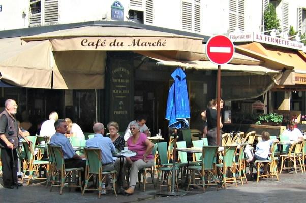 Café du Marché, rue Cler, budget paris