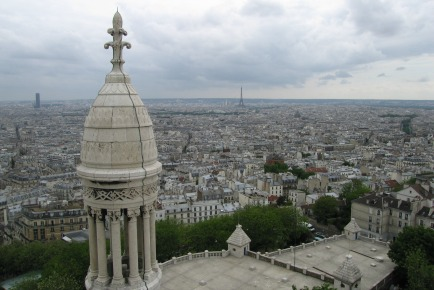 View from the dome of Sacre-Coeur