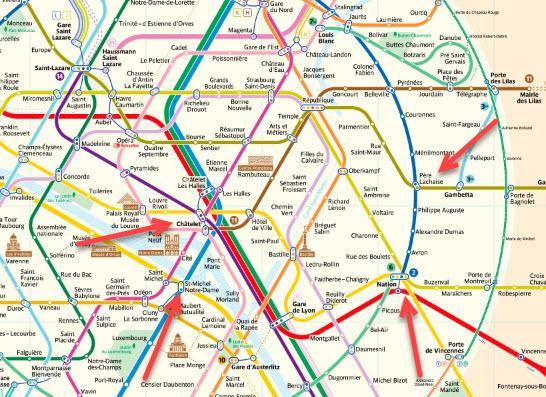 Paris Metro France Travel Info