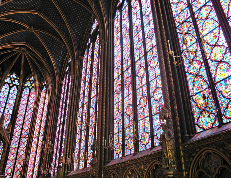 Ste Chapelle's Beautiful Stained Glass