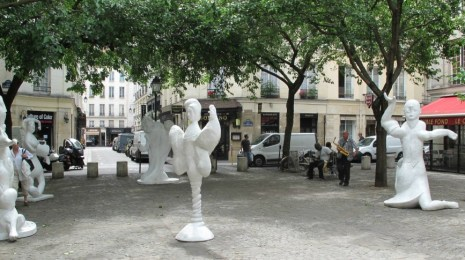 Alixe Fu's Exhibition in Paris