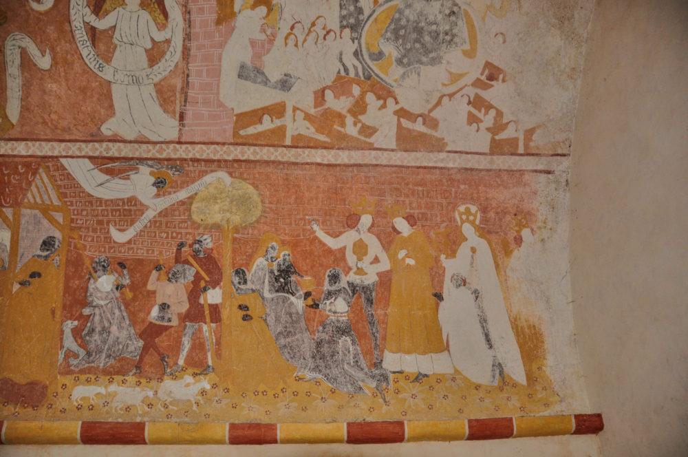 jouhet st-catherine chapel valley of the frescoes