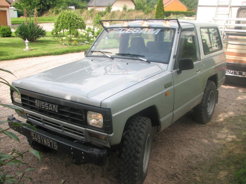 Troc Echange Je Troc Un Nissan Patrol Baroud 33 L Turbo