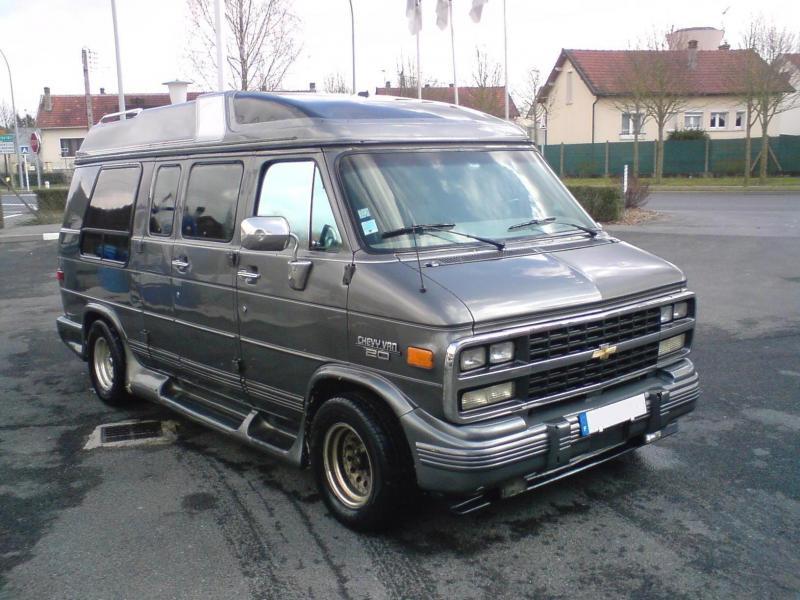 Troc Echange Vend Ou Troc Chevrolet Chevy Van 20 Gpl Sur