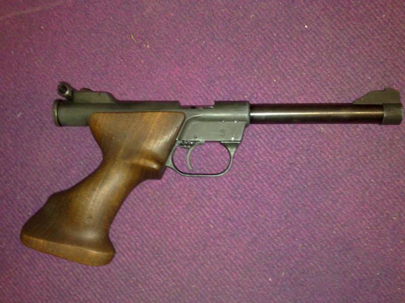 Troc Echange Pistolet 22lr Competition 1 Coup Sur France
