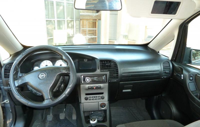 Troc Echange Opel Zafira Design Edition 22l 16V DTI 125