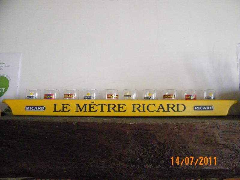 Troc Echange LE METRE RICARD AVEC C 10 VERRES Sur France