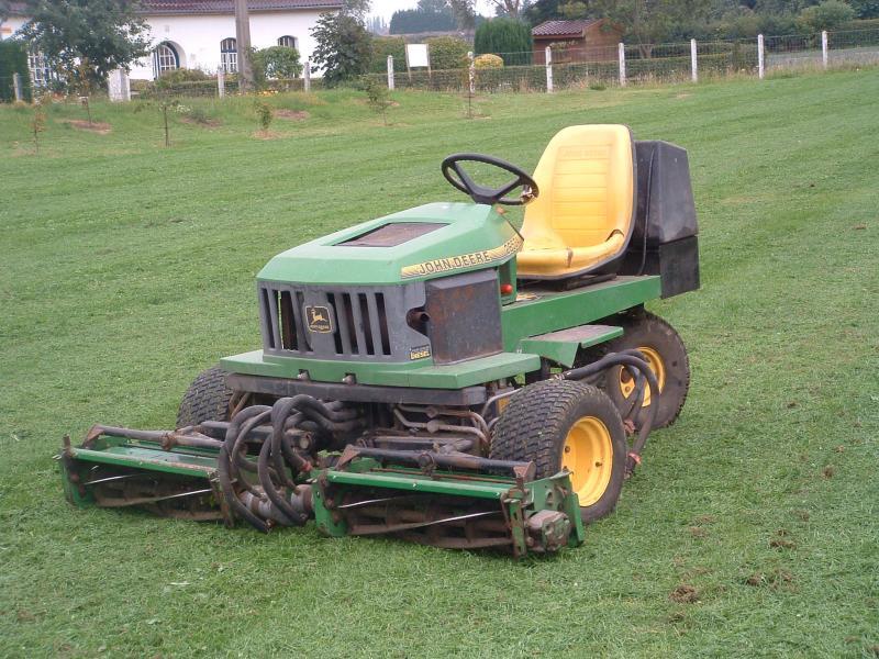 Troc Echange Tracteur Tondeuse John Deere Diesel 1m80 Sur
