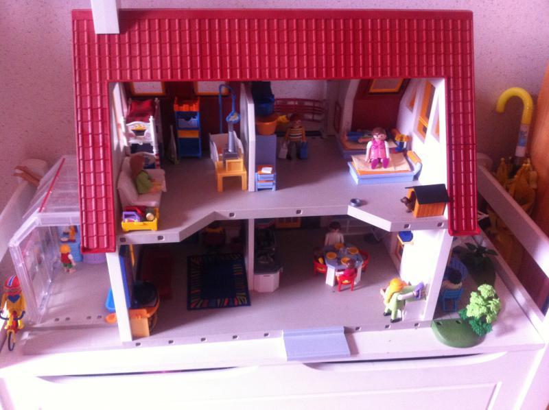 Troc Echange Villa Moderne Playmobil Sur