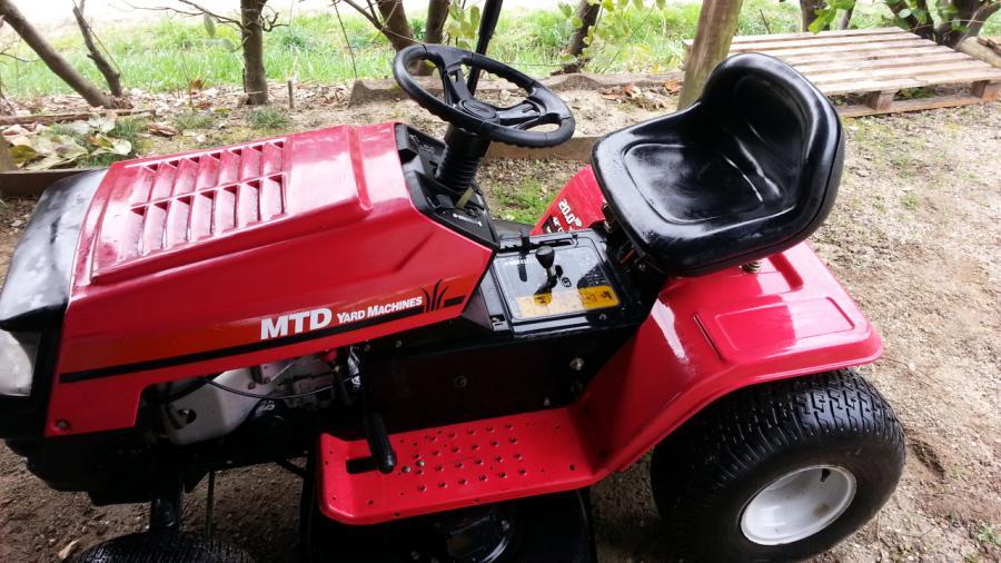 Troc Echange Tracteur Tondeuse Autoportee Mtd 20 Cv Sur France Troc Com