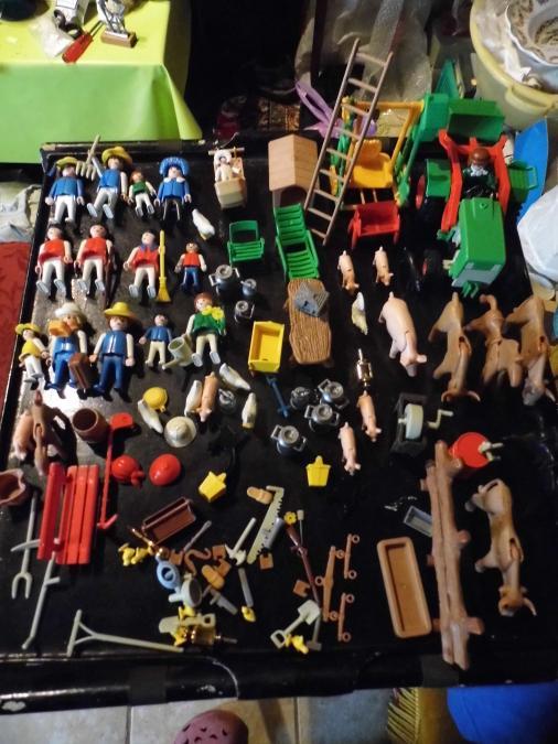 Troc Echange Playmobil Divers Anne 1974 Et 1984 Sur
