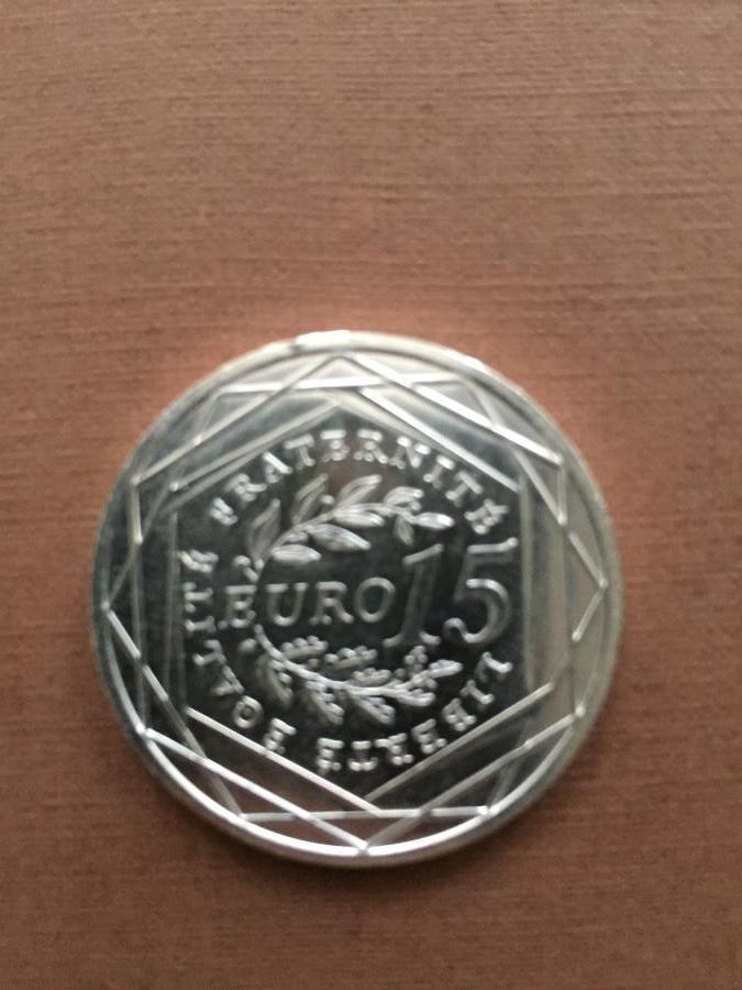 Troc Echange La Pice De 15 Euros 2008 En Argent Semeuse