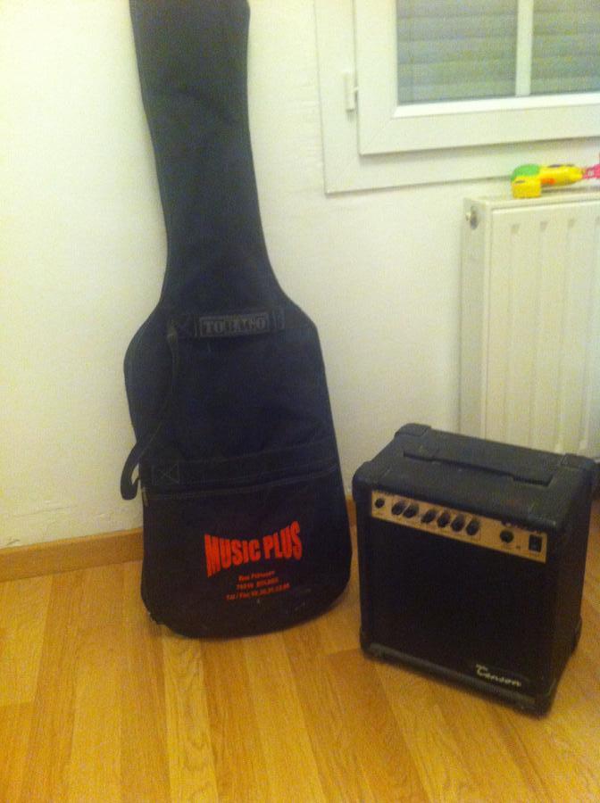 Troc Echange Guitare Electrique Et Ampli Sur