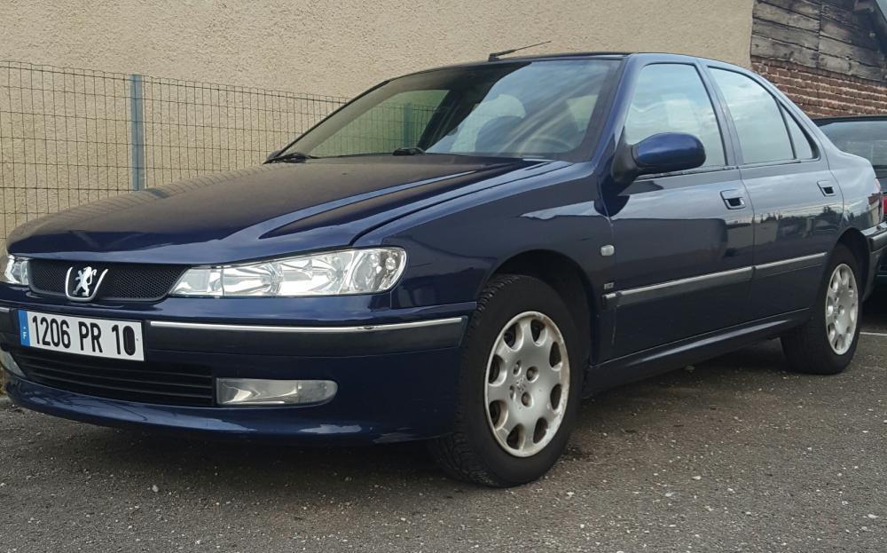 Troc Echange Peugeot 406 Hdi 90 Ch Ct Ok Bleu Marine
