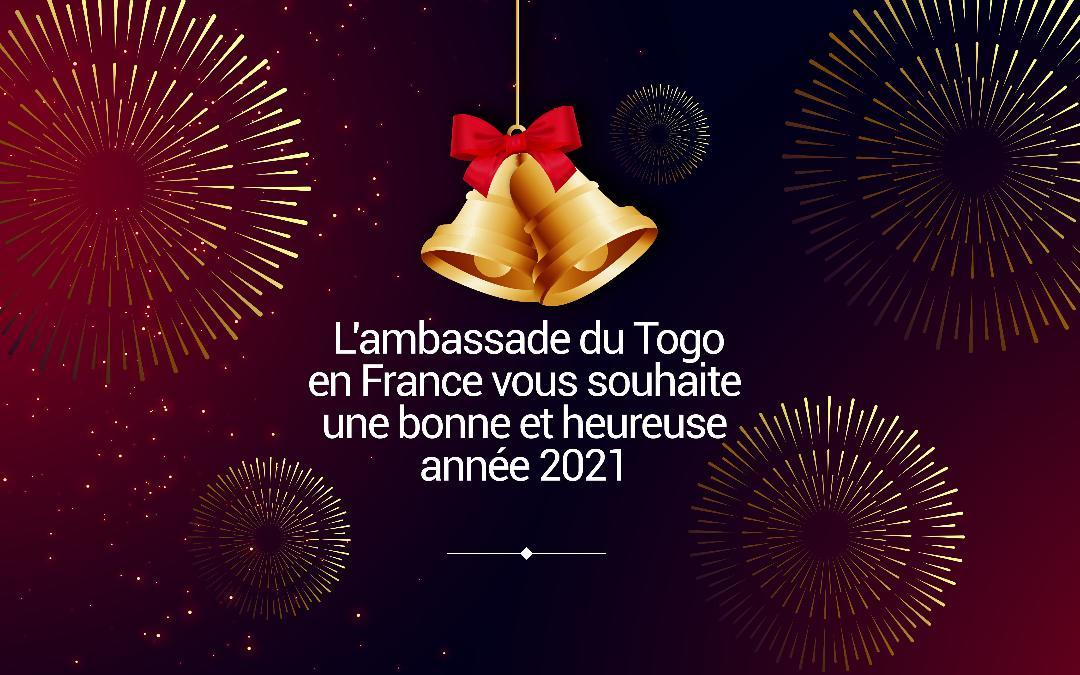 Message de vœux de S.E.M. l'Ambassadeur