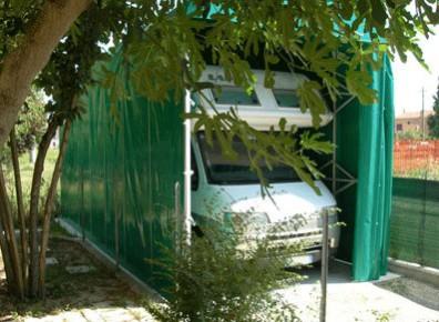 Garage Camping Car Pvc Un Abri Caravane Retractable