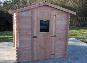 abri de jardin en bois traite autoclave
